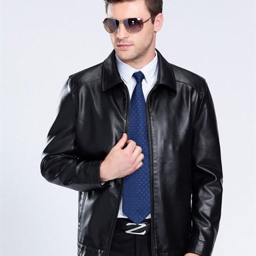 Hướng dẫn cách phối đồ cùng áo khoác da nam độc đáo