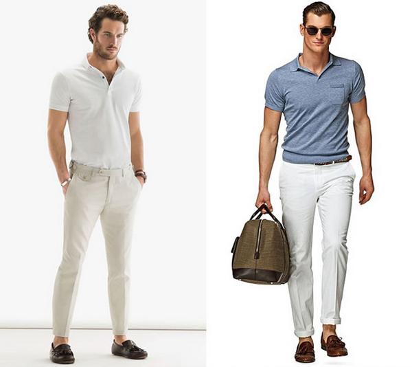Kết hợp áo Polo với quần gì cá tính