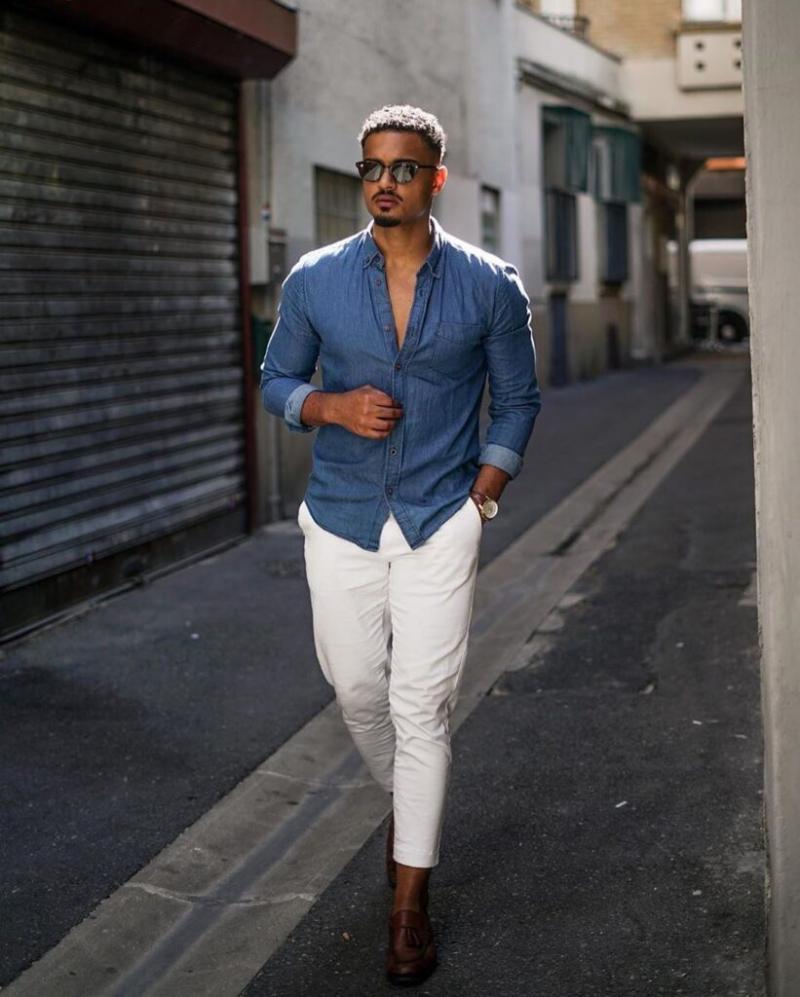 5 cách diện đồ cùng áo denim giúp chàng cực chất