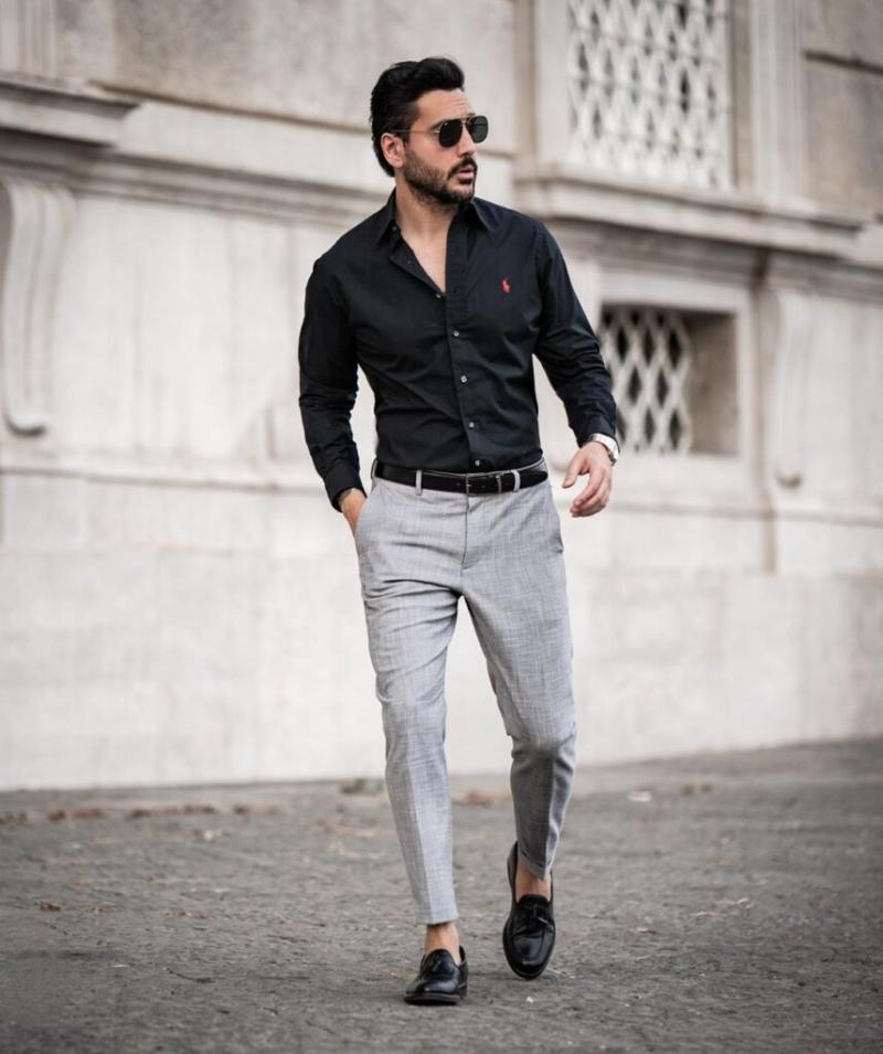 Luôn bảnh bao khi đi làm với combo trang phục phong cách