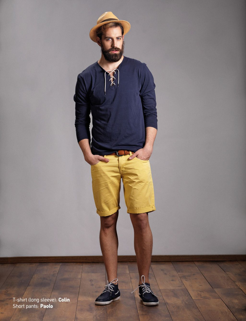 10 công thức đơn giản giúp phối đồ với quần short nam phong cách