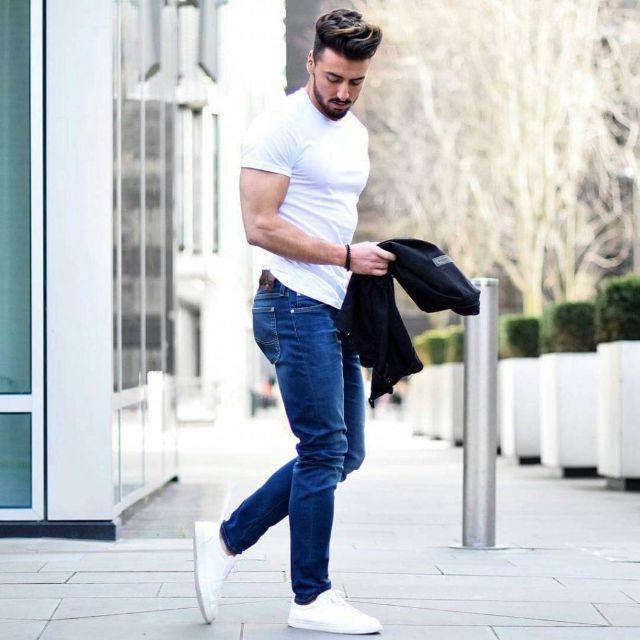 11 Cách phối đồ nam với quần Jean đẹp và phong cách
