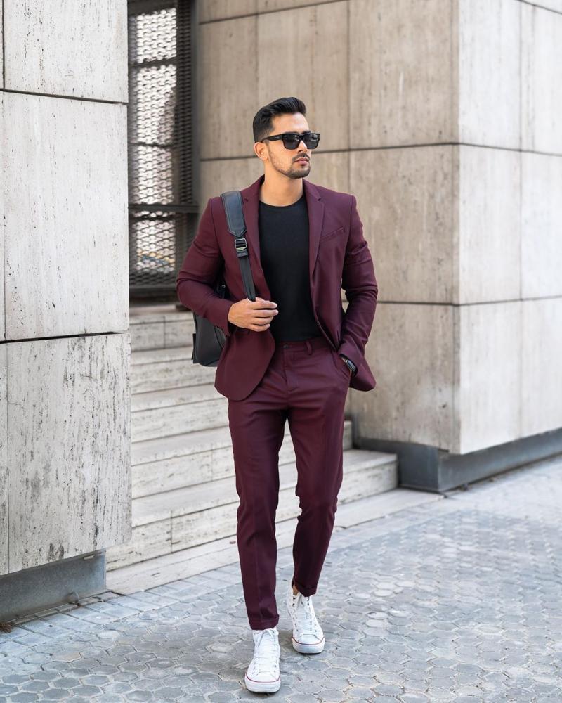 4 Cách phối đồ công sở cùng áo blazer giúp chàng