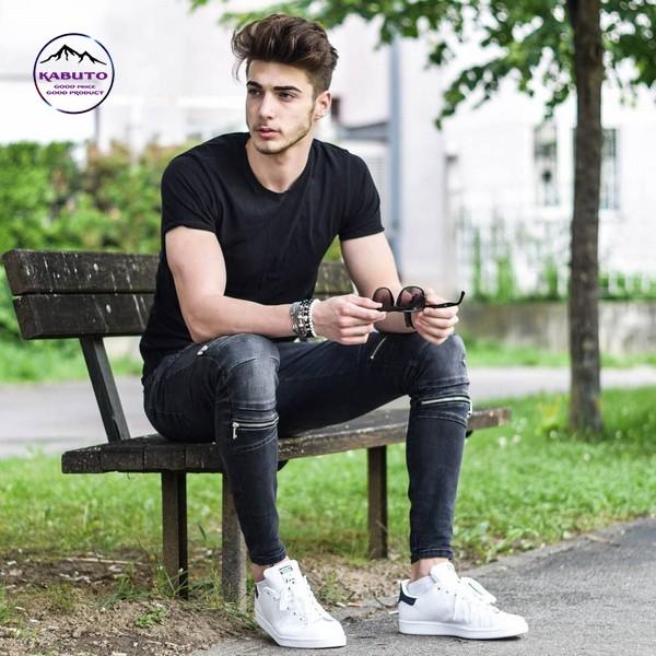 6 Cách phối đồ với quần jean nam cực đẹp cho mọi dáng người