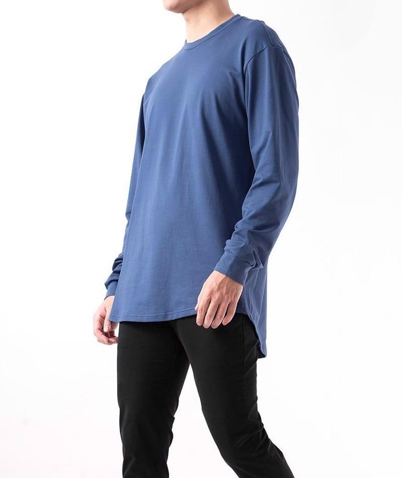 8 cách phối đồ với áo thun nam form rộng thoải mái