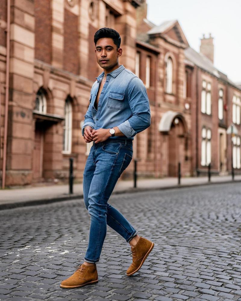Cách phối màu quần áo nam giúp chàng tôn da phong cách hơn