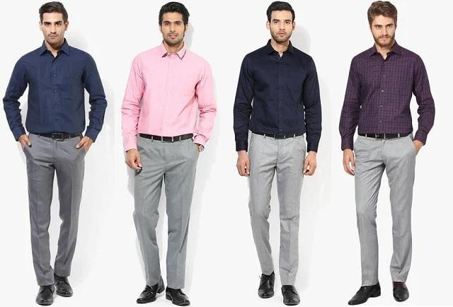 Tips phối đồ với với áo sơ mi nam đẹp cho dân công sở tự tin
