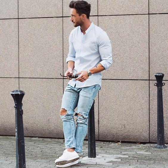 4 cách phối áo sơ mi oxford giúp chàng đơn giản nhưng đầy độc đáo