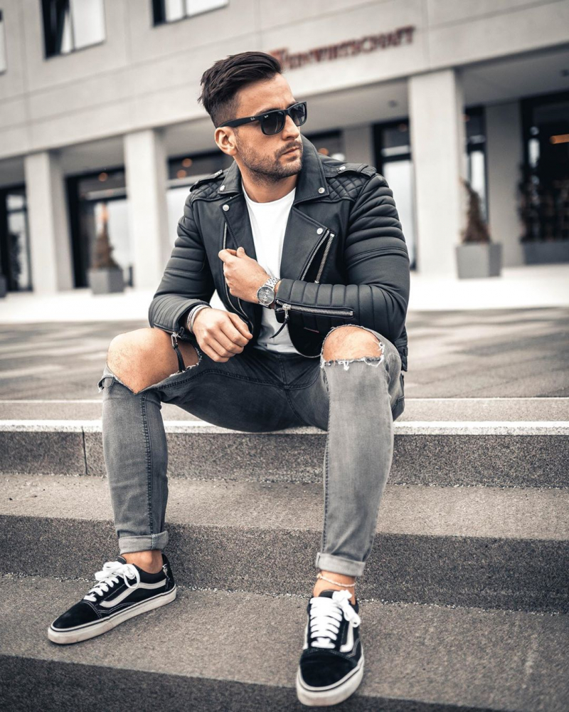 5 tips phối đồ với giày vans old skool cực nam tính bụi phủi