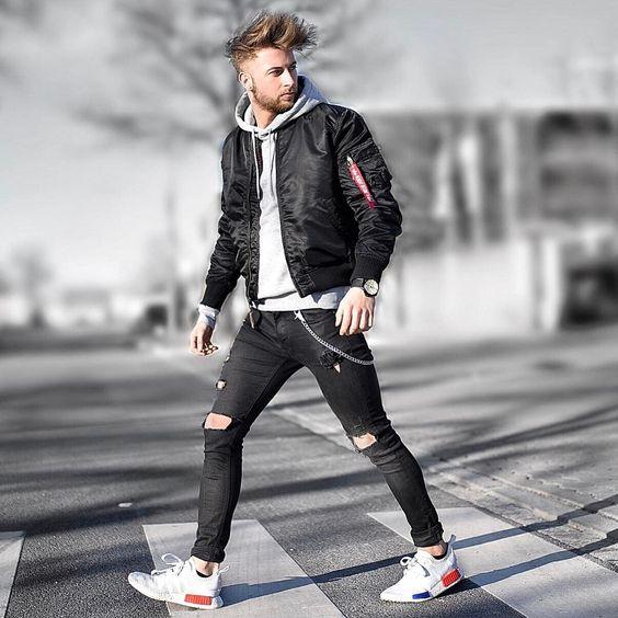 """6 cách mix&match; trang phục """"đậm chất đường phố"""" cùng áo khoác thời trang"""