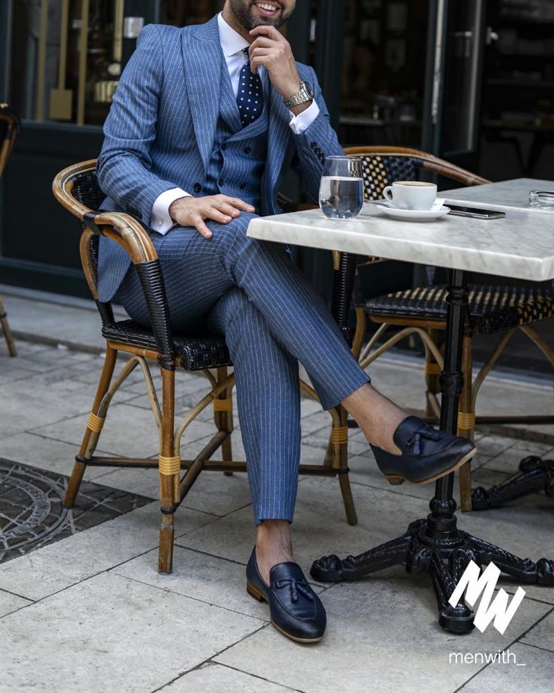 Bí quyết để chọn một bộ suit kẻ sọc vừa nam tính vừa trẻ trung cá tính