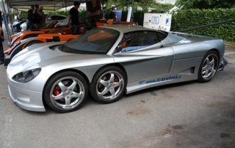 Siêu xe Italy 6 bánh 434 mã lực mang tên Covini C6