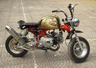 Honda Monkey độ ngộ nghĩnh đam mê của tuổi trẻ