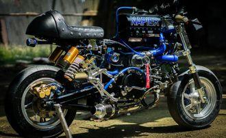 Chiếc Honda Monkey nhanh nhất thế giới