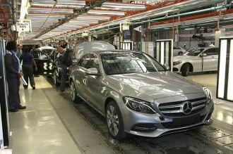 Mercedes-Benz bắt đầu sản xuất C-Class 2015 tại nhà máy Nam Phi