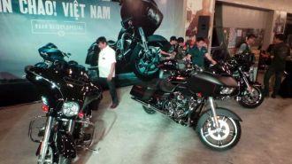 3 mẫu xe tiền tỉ được Harley Davidson giới thiệu ở Việt Nam