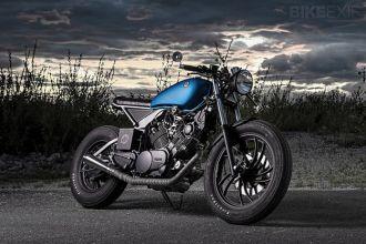 Hút hồn bởi vẻ đẹp từ chiếc Yamaha XV750 độ Cafe racer