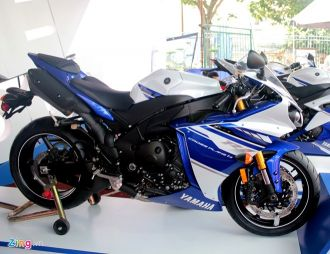 5 mẫu xe thể thao đang được bán tại Việt Nam của Yamaha