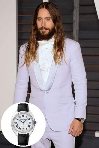 Đồng hồ xa xỉ từ chất liệu quý của sao nam trên thảm đỏ Oscar