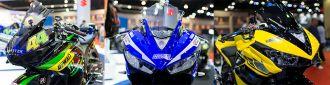 Bộ ba Yamaha R3 tại Bangkok Motor Show