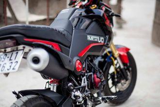 Honda MSX125 độ phong cách với dàn đồ chơi tuyệt đẹp