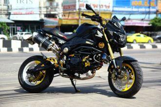 Honda MSX độ siêu ngầu của dân chơi Thái Lan
