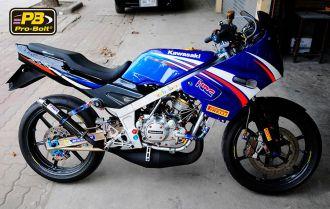 Kawasaki kips 150cc tập tành lên đồ chơi