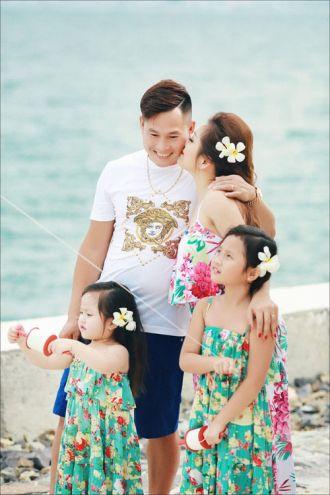 Bộ ảnh ngọt ngào của gia đình sinh con gái một bề