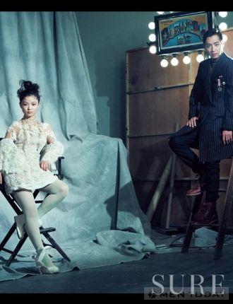 Các cặp đôi xứ Hàn quyến rũ với len, dạ