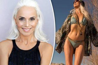 """Người mẫu bikini 60 tuổi trẻ như 30 tuổi nhờ dầu giá """"bèo"""""""