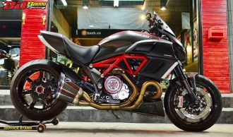Hấp dẫn cùng chiếc Ducati Diavel độ ấn tượng tại Thái Lan