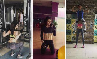 Người đẹp Hà Nội quyết tập gym để có vóc dáng chuẩn sau khi thất tình