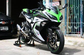 Kawasaki Ninja 300 đẹp mắt với phiên bản độ cực chất