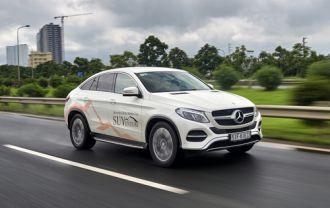 Dòng Mercedes GLE coupe - xế sang đa tính cách cho người Việt