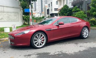Aston Martin Rapide 2010 giá 242.000 USD tại Việt Nam