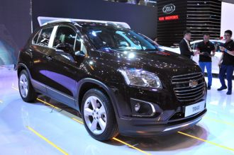 Hình ảnh chi tiết Chevrolet Trax tại Vietnam Motor Show