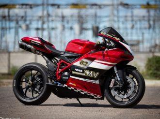 Ducati 848 EVO độ cá tính với phong cách xe đua