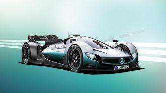 Hãng Mercedes sắp giới thiệu xe đua F1 chạy trên phố
