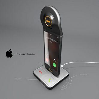 Hình ảnh concept iPhone lai điện thoại để bàn
