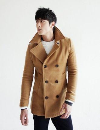 Áo khoác dạ nam măng tô không lạnh dạo phố ấm áp